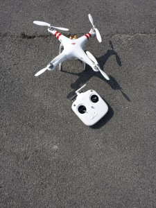 DJI Phantom with Remote